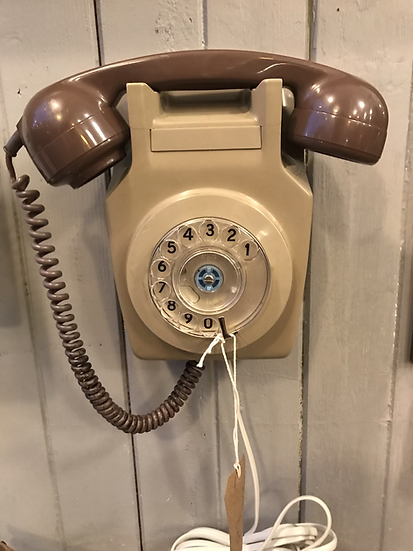 Wall mounted BT phone - working