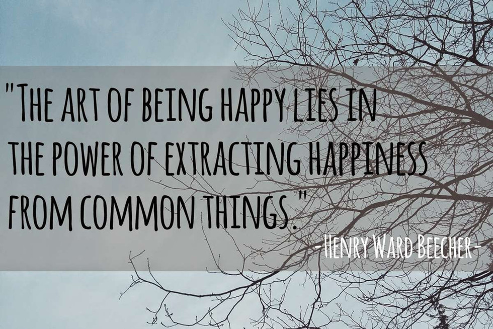 Watching our way to Happiness