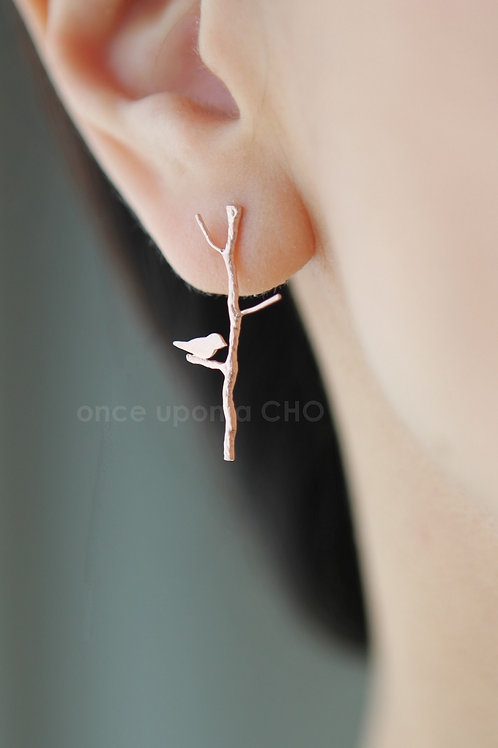 Love Birdie Earrings | Pink