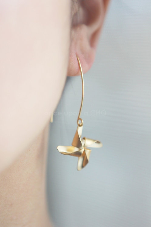Pinwheel | Gold or Silver