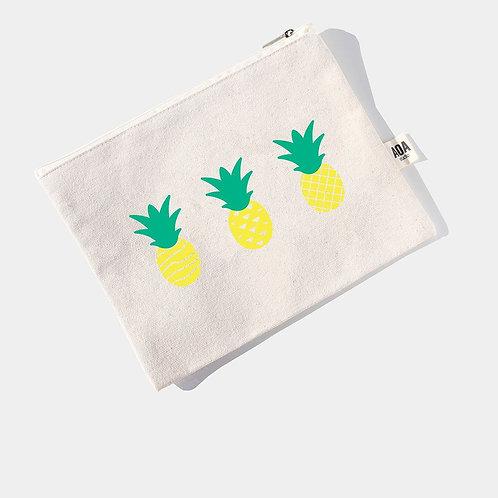 AOA Canvas Pouch - Pineapples AOA-0515