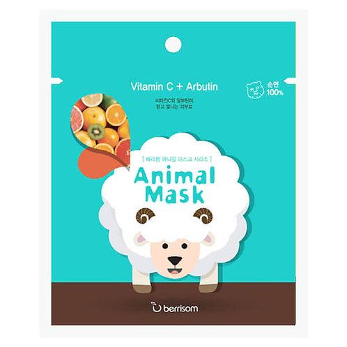 berrisom Animal Mask Series - Sheep 25ml, Vitamin C + Arbutin