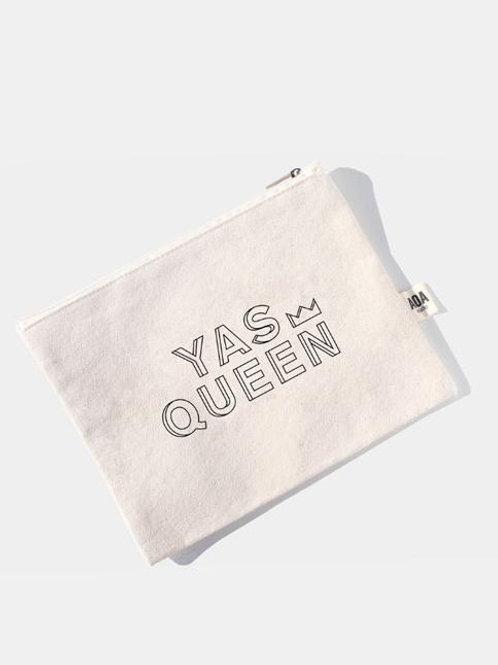 AOA Canvas Pouch - Yas Queen AOA-0561