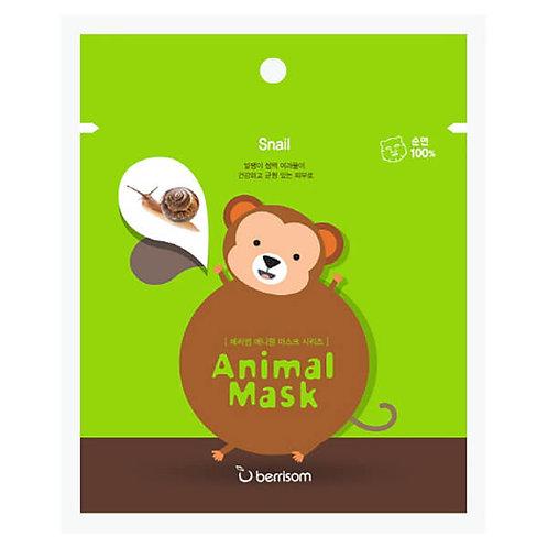berrisom Animal Mask Series - Monkey 25ml, Snail