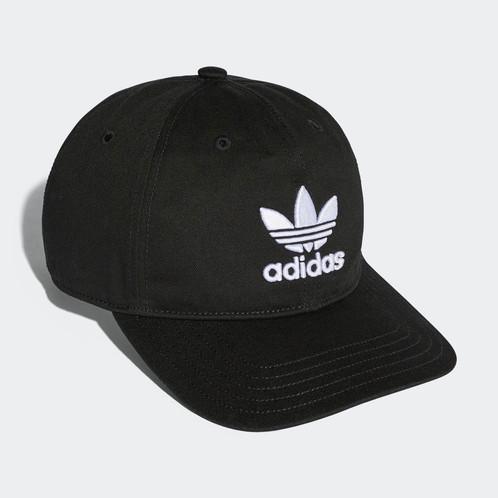 ... adidas Originals Trefoil Classic Cap Black BK7277 ... 40dc16e2cbf