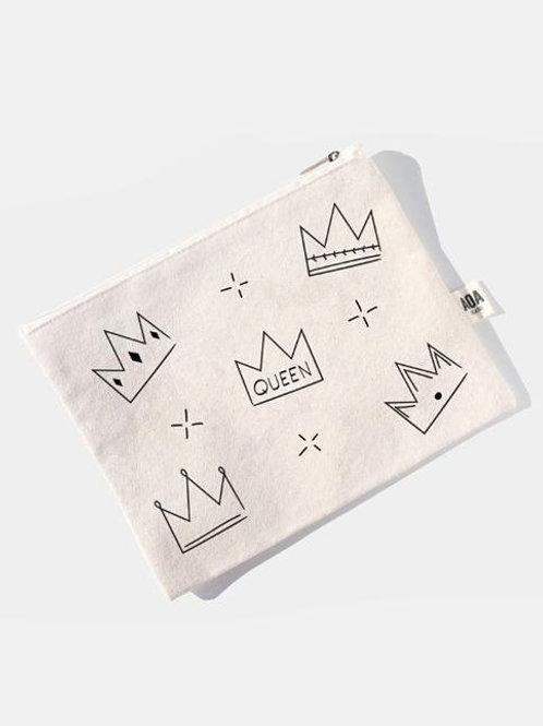 AOA Canvas Pouch - Crown AOA-0567
