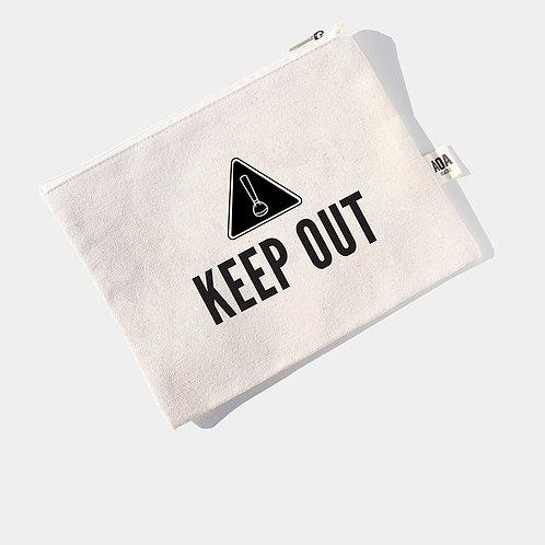 AOA Canvas Pouch - Keep Out AOA-0066