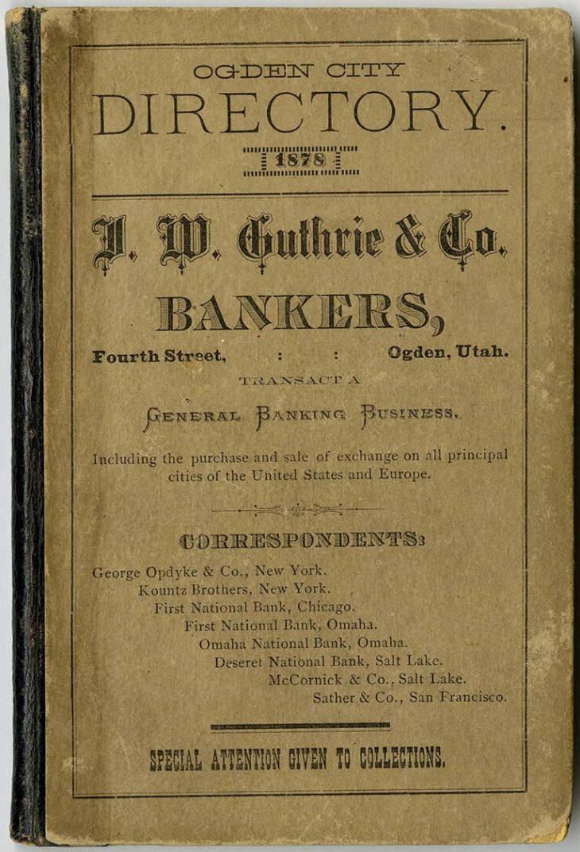 1878 Polk Directory