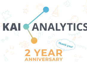 Kai Analytics Turns 2 Years Old