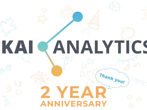 Kai Analytics Turns 2 Years Old