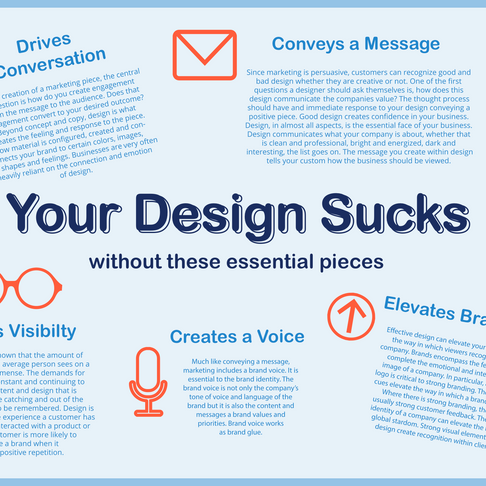 Your design sucks...without these essential pieces by Haley Giddings