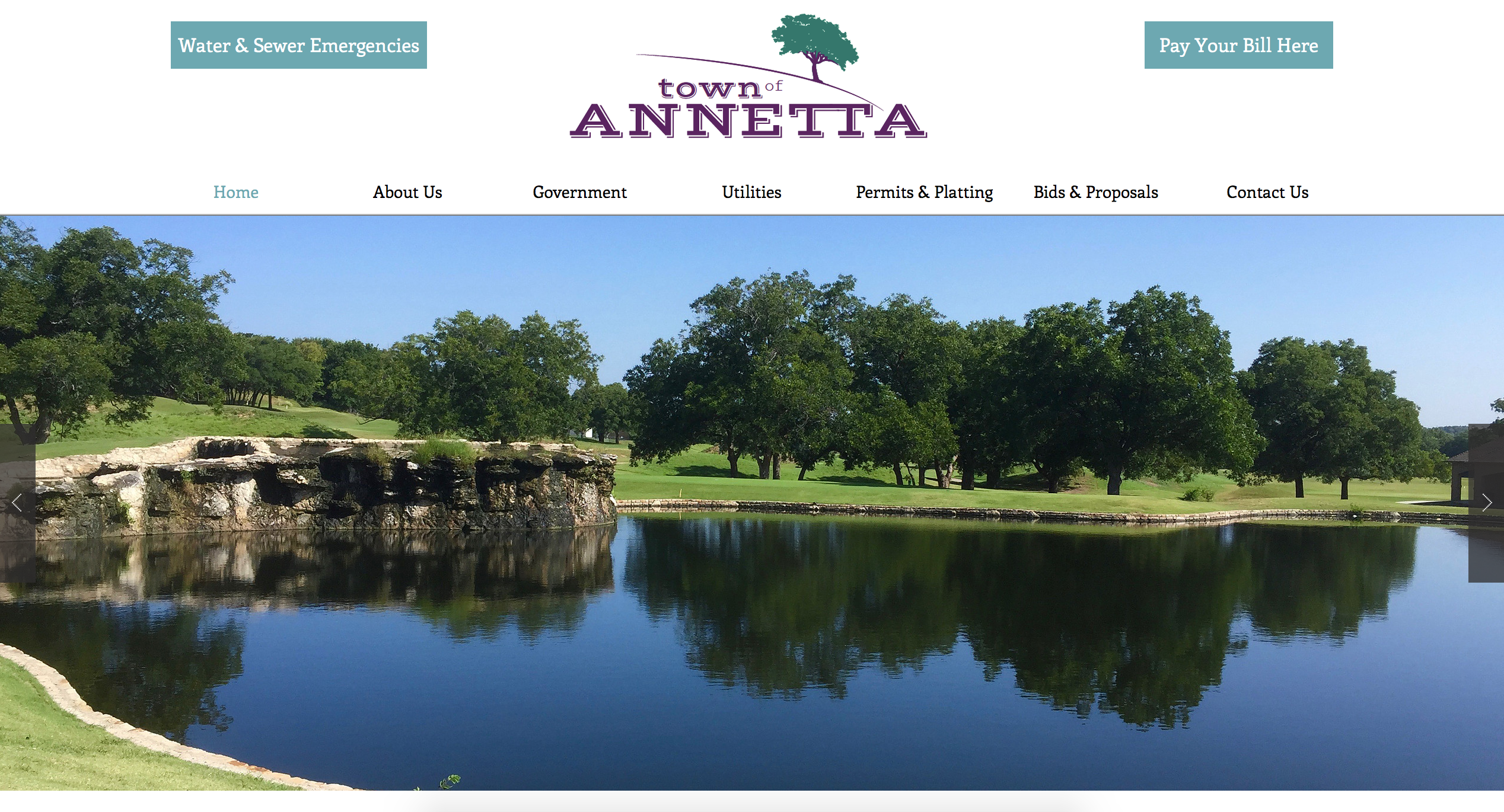 Town of Annetta Website