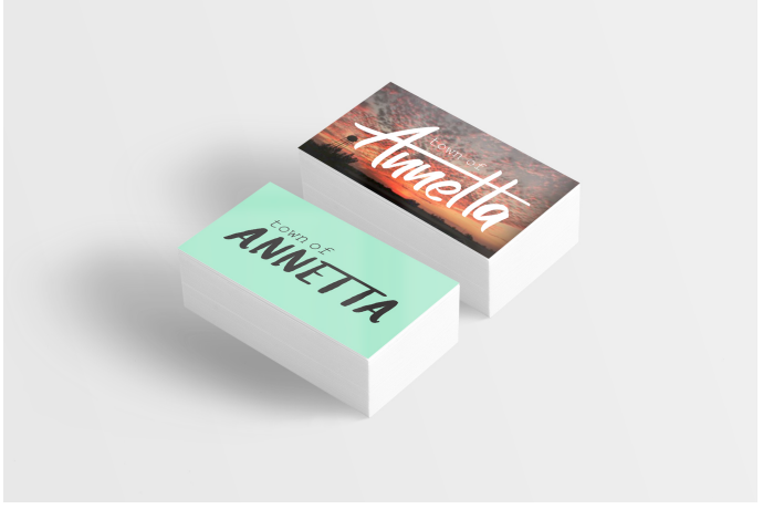 Town of Annetta Business Cards