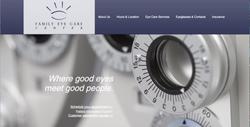 Family Eye Care Website