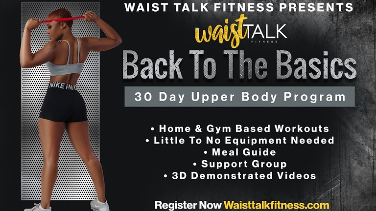 Back To The Basics 30 Day Upper Body Program