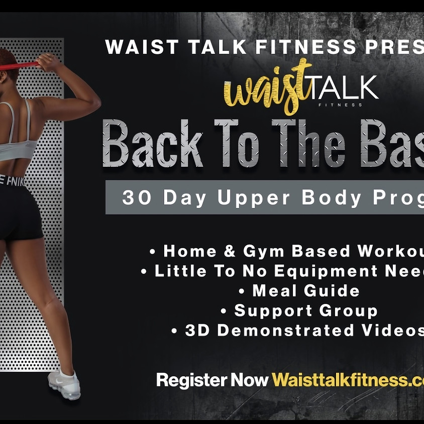 Back To The Basics 30 Day Upper Body Program