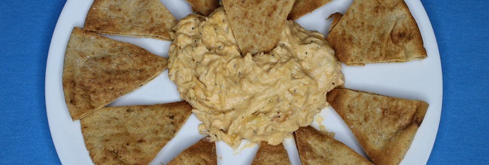 Buffalo Chicken Dip W/Pita Chips