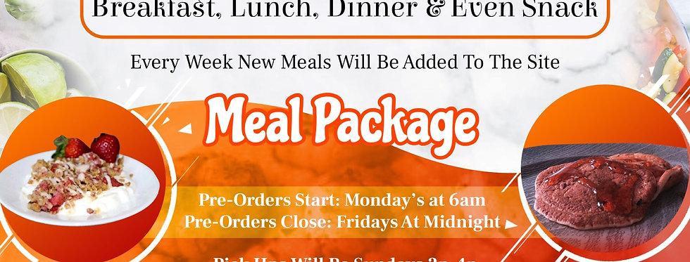 Sample Meal Package