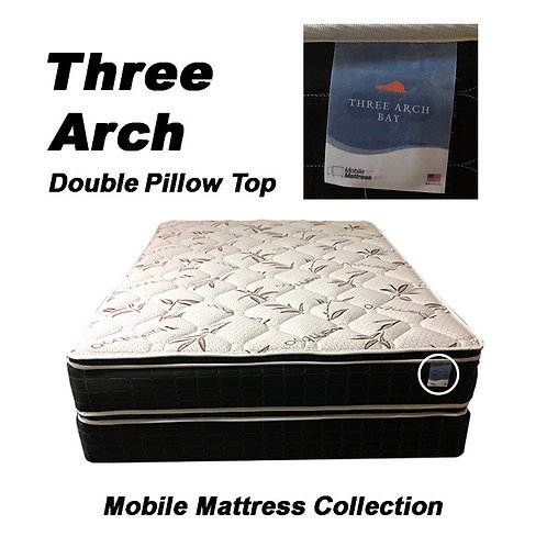Three Arch - Double Sided Pillow Top