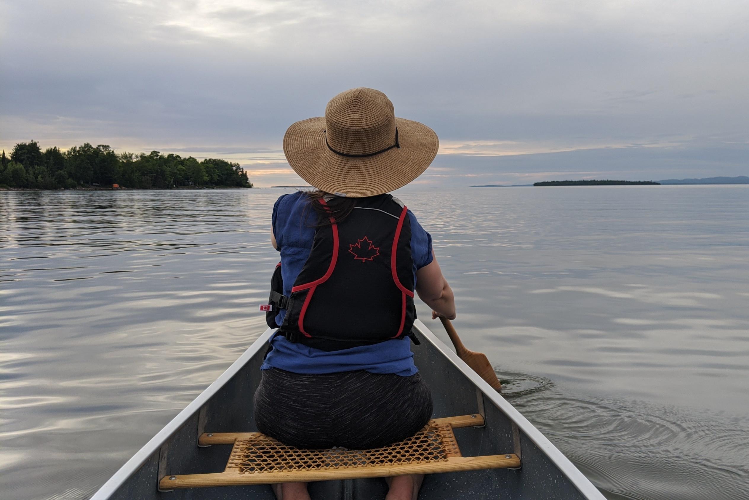 Guided Interpretive Canoe Tour: 4 hours