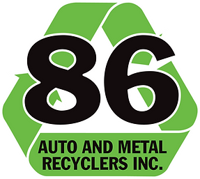 86 Auto and Metal Logo