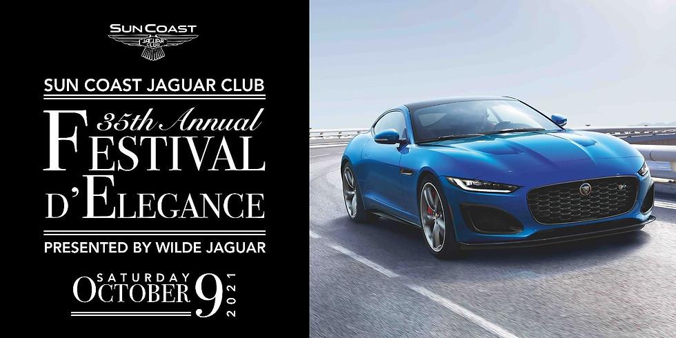 Sun Coast Jaguar Club 35th Annual FESTIVAL D'ELEGANCE