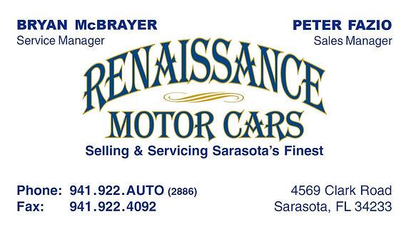Renaissance Motor Cars