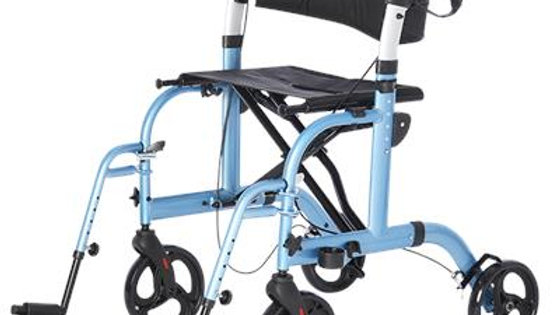 Translator - Rollator and Transport Chair - 2 in 1