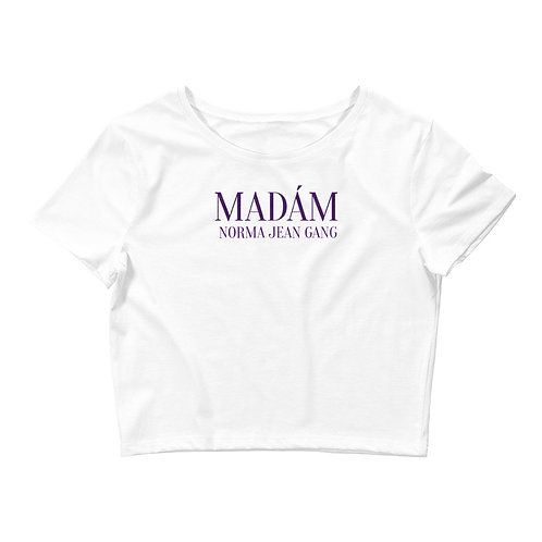 Women's Crop MNJgang  Tee
