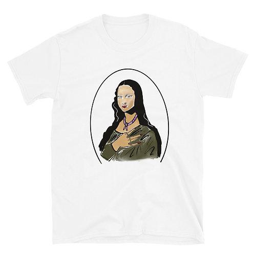 Short-Sleeve Unisex T-Shirt Mona lisa