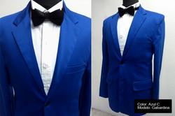 gabardina azul claro