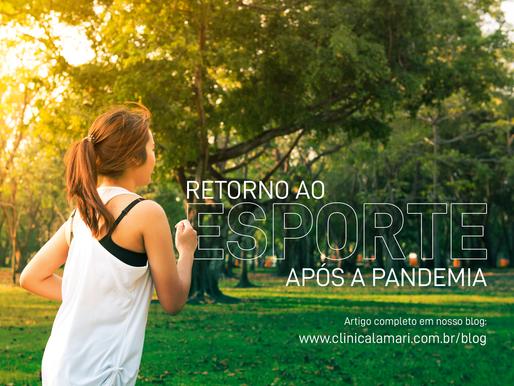 Retorno ao Esporte Após a Pandemia