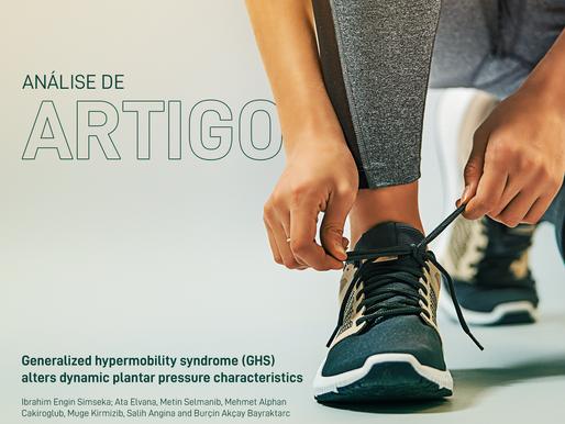 Hipermobilidade Articular Generalizada (HAG) Altera As Características De Pressão Plantar Dinâmica
