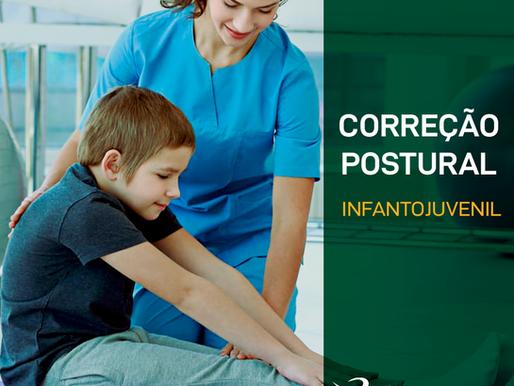 A importância da correção postural - Infantojuvenil