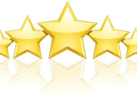 5 Star Reviews!