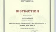 Xobeen Gould Grade 3