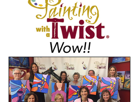 New Sisterhood Painting with a Twist