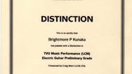 Brightmore Kunaka Preliminary