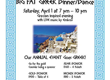 Big Fat Greek Dinner Dance
