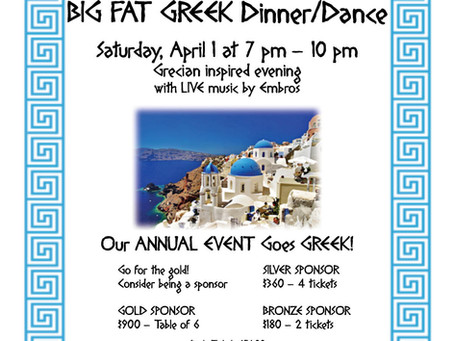 Big Fat Greek Dinner Dance