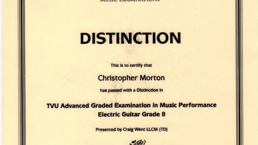 Christopher Morton Grade 8