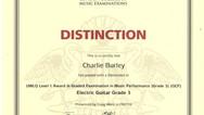 Charlie Burley Grade 3