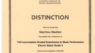 Matthew Maddan Grade 5