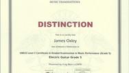 James Oxley Grade 5
