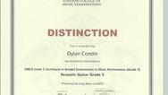 Dylan Condie Grade 5
