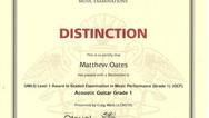 Matthew Oates Grade 1