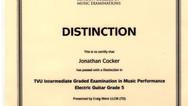 Jonathan Cocker Grade 5