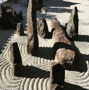 東福寺の石庭です。