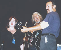 Arlo Guthrie, Bruce Springsteen