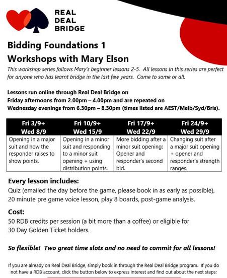 Bidding foundations 1